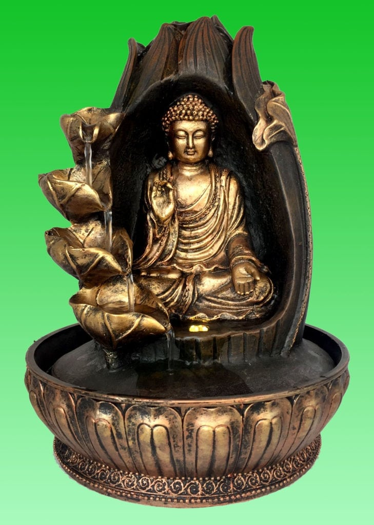 Soothing Relaxing Blessing Buddha Water Sounds Feature