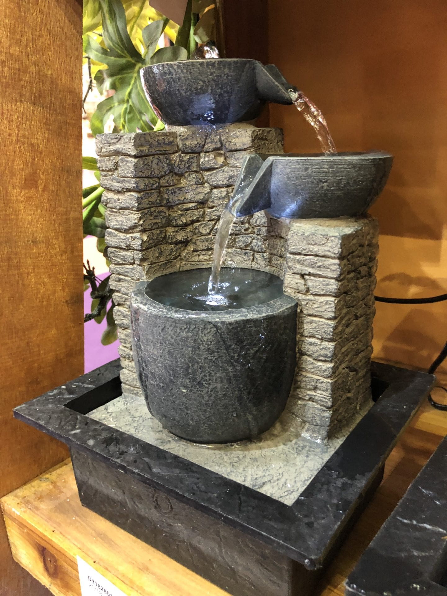 Harmony Indoor Water Feature Multi Drop Fountain
